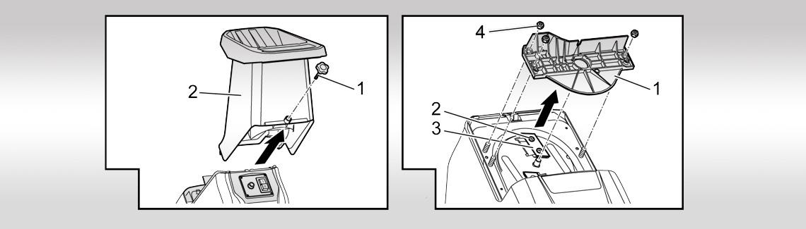 AL-KO fa-és sövényápolási tartozék  Komposztaprító kés csere