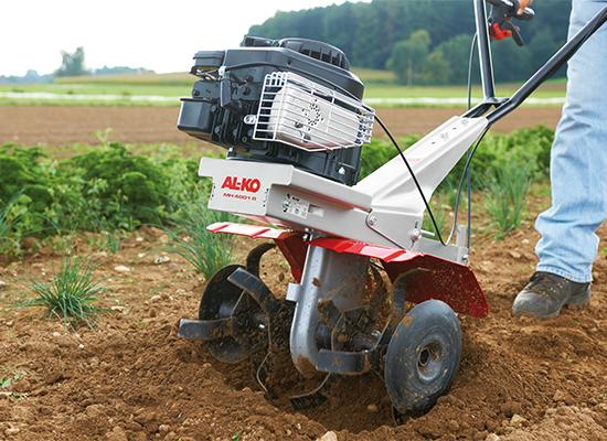 Motoros kapa   AL-KO késtárcsa finomszemcsés talajhoz